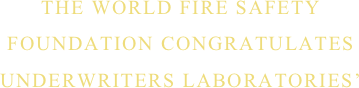 THE WORLD FIRE SAFETY