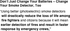 Don't Just Change Your Batteries – Change Your Smoke Detector, Too