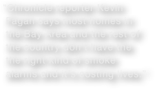 """Chronicle reporter Kevin
