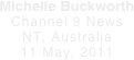 Michelle Buckworth Channel 9 News
